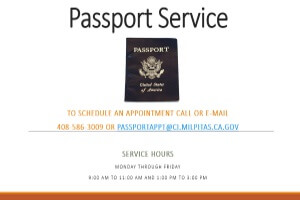 Photo of Passport Sign