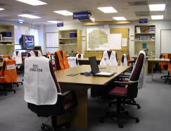 Photo of EOC Room