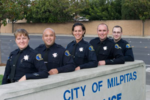 Photo of Milpitas Police Officers