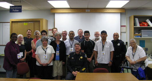 Photo of PACES members