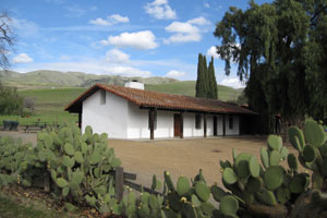 Picture of the Jose Higuera Adobe Building