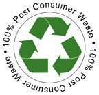 Post Consumer Waste Logo