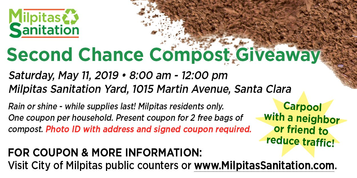 Annual Compost Giveaway | City of Milpitas
